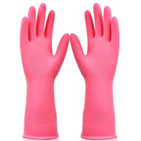 买一送二# 双一 家务清洁不加绒薄款手套 6.8元包邮
