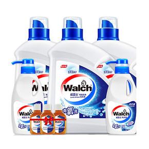 前20秒半价# 威露士 有氧洗衣液消毒液8件套装 13日6点 49元(99-50)