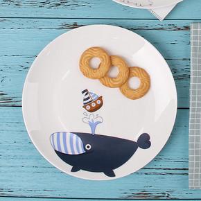 餐具也卖萌# 东荣陶瓷 家用创意陶瓷餐盘 5.9元包邮