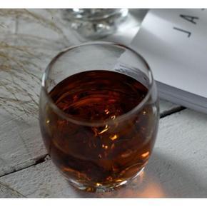 厚实耐热# 圣铭陶瓷 耐热钢化玻璃矮杯 4只装 16.9元包邮(19.9-3券)