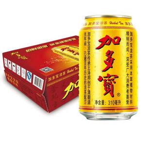 加多宝 凉茶 310ml*24罐  折59.9元(79.9*2-40)