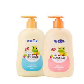 一瓶两用# 青蛙王子 婴儿洗发沐浴露 310ml+310ml 19.9元(39.9-20券)
