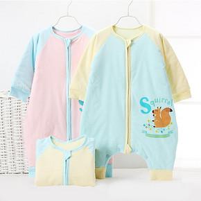 意婴堡 婴儿可脱袖纯棉加厚睡袋 43元包邮(123-80券)