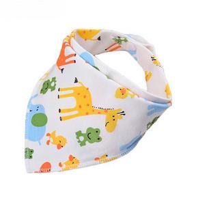 乐蓓淘 婴儿纯棉口水巾三角巾 1.9元(3件包邮)
