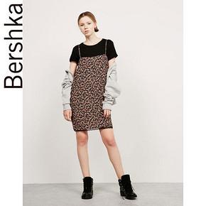 Bershka BSK 女士底边装饰碎花连衣裙 119元包邮