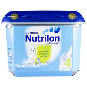 荷兰 牛栏诺优能4段幼儿配方奶粉 安心罐 800g 99元(2件包邮)
