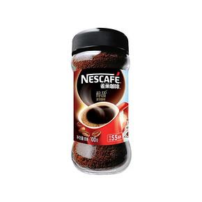 雀巢 即溶咖啡醇品 100g 折21.9元(199-100)