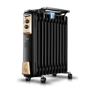 南方冬季利器# TCL 家用电暖器电热油汀 99元包邮(159-60券)