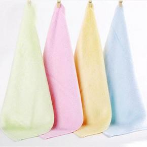 凑单好物# 迎馨家纺 素色吸水方巾 25*25cm 1元