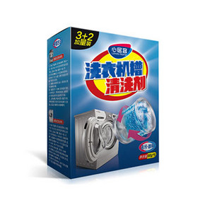 给洗衣机洗澡# 心居客 洗衣机槽清洗剂 450g  8.6元包邮