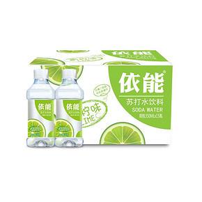 依能 无糖苏打水 青柠味 350ml*15瓶 19.9元