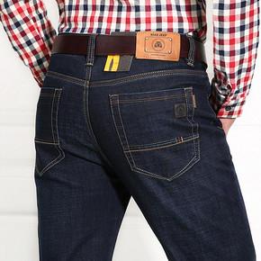 前10分钟半价# NIAN JEEP 男士商务牛仔裤 39元(78-39)