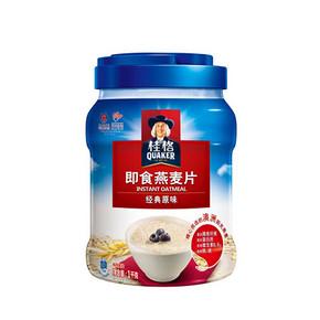 Quaker 桂格 即食燕麦片 1000g 折12.8元(双重优惠)