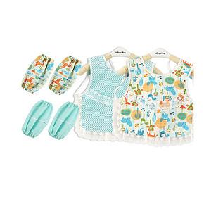 宝宝美衣# 艾乐果 纯棉宝宝罩衣6件套 19.9元包邮