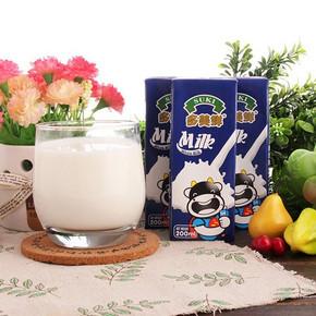 多美鲜 全脂牛奶 200ml*12盒 19.9元