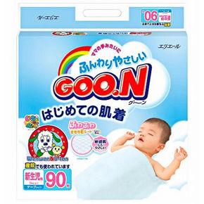日本 大王 GOO.N 维E系列 婴儿纸尿裤 新生儿 NB90片 77.9元(69+8.9)
