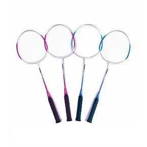 悦步 超轻羽毛球拍 2支装+赠羽毛球3个  16.9元包邮(36.9-20券)
