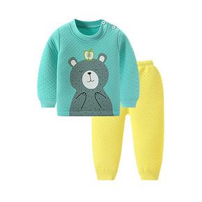 北极绒 婴幼保暖儿内衣套装 19.8元包邮(29.8-10券)