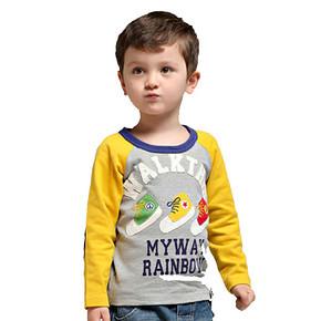 多色可选# 薄荷堂 儿童长款纯棉打底T恤 19.9元包邮(29.9-10券)