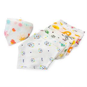 不用天天洗衣服# 艾乐果 婴儿纯棉口水巾 16条 29.8元包邮(29.8*2-29.8)
