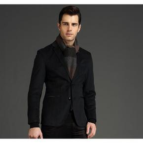 优雅绅士# 劲霸 男士修身型西服外套 179元包邮(229-50券)