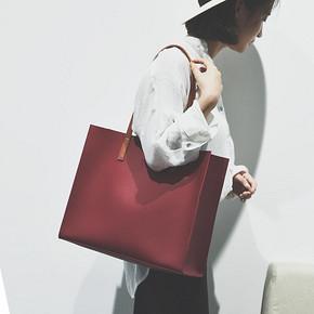 时髦简约# 代代花枳  大容量单肩手提托特包 29.9元包邮(49.9-20券)