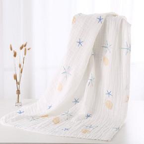 必炫 新生儿纯棉纱布盖毯浴巾 15.9元包邮(25.9-10券)
