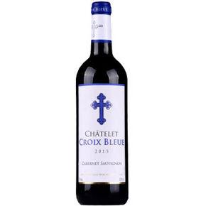 微信端# 法国蓝十字堡赤霞珠干红葡萄酒 750ml 19.9元