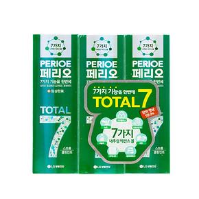 倍瑞傲 七合一全优倍护牙膏 绿色 120g*3支*6件 149.9元包邮(234-100+15.9)
