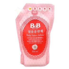 B&B 保宁 婴幼儿衣物柔顺剂 茉莉花香 800ml 折11元(19.9,199-100)