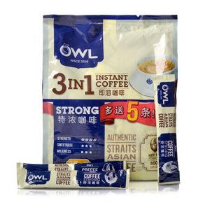 新加坡进口 OWL 猫头鹰 三合一速溶咖啡 800g 30.8元(26.9+3.9)