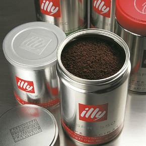 醇厚香浓# 意大利进口 Illy意利 中度烘培咖啡粉 250g 折37元(买3免1)
