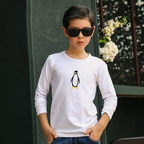 小青瓜  男童圆领纯棉长袖T恤  19.9元包邮(29.9-10券)