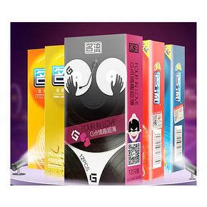前10000名# 名流 超薄情趣型避孕套 12个装  19点 6.9元包邮(9.9-3)