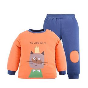 前10分钟半价# 南极人 儿童夹棉加厚套装 15点 29.9元包邮(59.9返30)