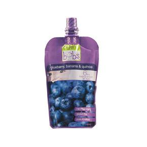 澳洲 bubs 有机蓝莓香蕉藜麦果泥  120g 折7.6元(9.9,买3免1)