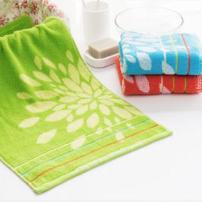 前5分钟半价# 洁丽雅 纯棉毛巾3条装 0点 10元包邮(19.9-9.9)