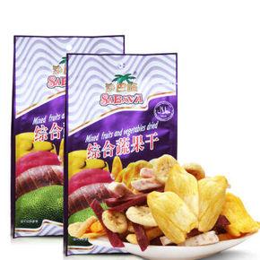 越南进口 Sabava 沙巴哇 综合蔬果干 230g*2袋 折24.9元(29.9*2-10)