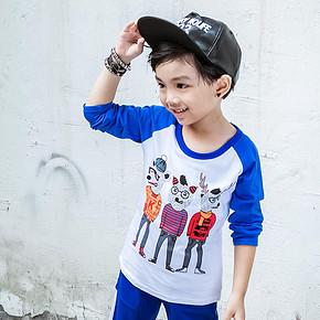 帅则无畏# 潮贝正太 韩版男童长袖T恤 25元包邮