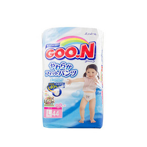 日本 GOO.N 大王 维E系列 女拉拉裤 L44片 77.9元(69+8.9)