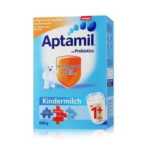 德国 Aptamil 爱他美 成长1+ 婴儿奶粉 600g  66元包邮(99+7-40券)