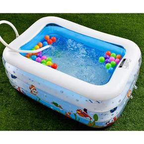在家游个泳# 倍护婴 婴儿充气游泳池 19元包邮(49-30券)