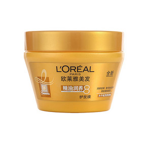 LOREAL 精油润养护发膜 250ml 折17.5元(35,199-100)