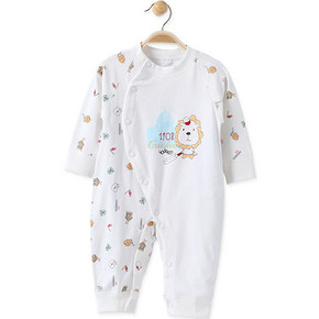 酷尾巴 婴儿春秋季纯棉连体衣 19.9元包邮(39.9-20券)
