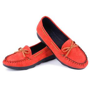 中情鸟 浅口厚底豆豆鞋  多色可选   29元包邮(39-10券)