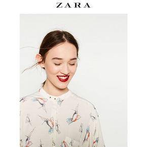 ZARA 女士印花衬衫 139元包邮