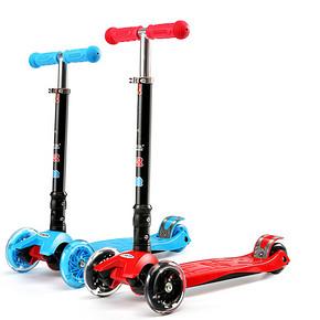 童年乐趣# 汉驰 儿童四轮滑板车 送小礼品 69.9元包邮(99.9-30券)