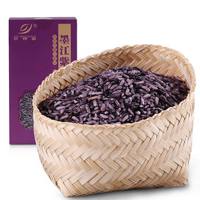 云荞源 云南特产长粒紫米 1000g  9.8元包邮(29.8-20券)
