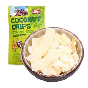 折2.5元/件# 泰国进口 克恩兹 榴莲味椰子片 40g 折2.5元(4.9,99-50)