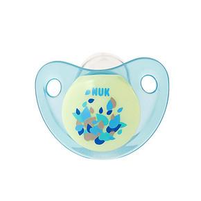 NUK 夜光型硅胶安抚奶嘴 6-18个月  2件 29元(买2免1)